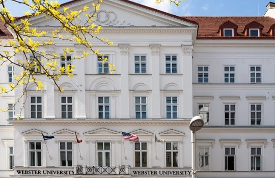 Exterior of Webster Vienna Private University